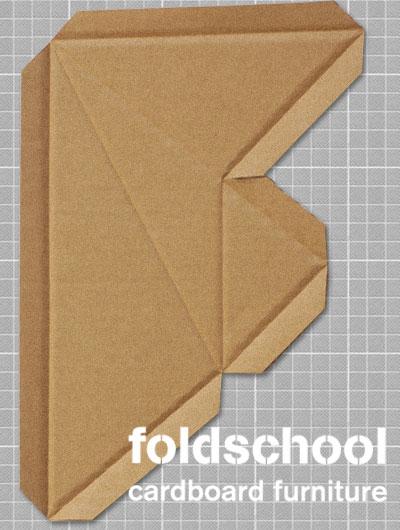 foldschool cardboard furniture card board furniture